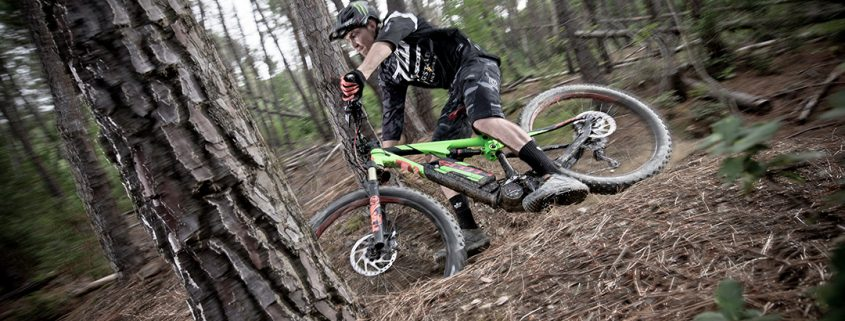 Das E-MTB Scott E Genius Plus als Spass-Maschine