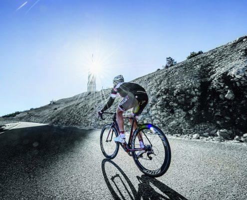 Rennrad auf der Straße