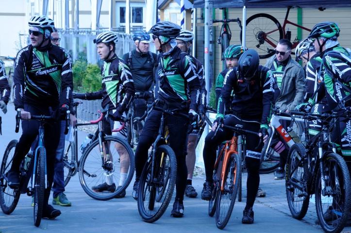 Campana Team beim Gravelon vor dem Start