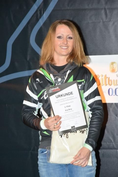 Anja Berg - 2. Platz Cycling Circuit Nürburgring