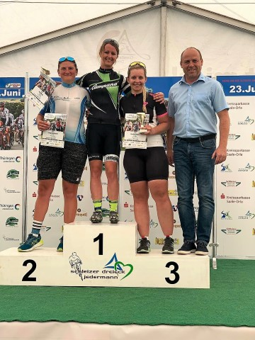Campana Racing Team - Platz 1 Anja Berg