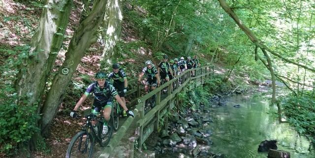 Campana Explorer Team auf Pfingsttour 2019 auf dem Bergischen Weg