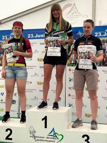 Campana Racing Team - Platz 1 Franziska Scheffler